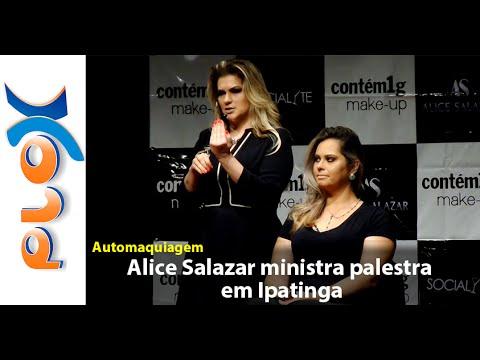 Alice Salazar ministra palestra em Ipatinga