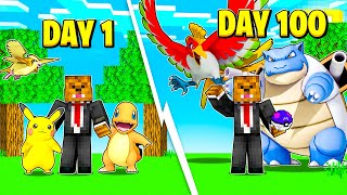 I Survived 100 Days In Minecraft Pixelmon (Here's What Happened)