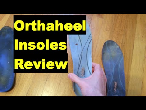 Orthaheel insoles review