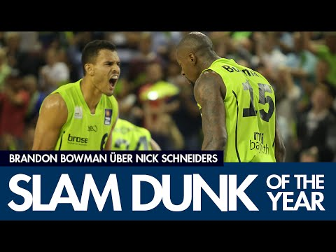 2015 BBL Slam Dunk of the Year