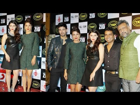 Priyanka Chopra, Mannara, Anubhav Sinha At Music Celebration Party Of Movie Zid