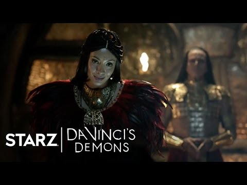 Da Vinci's Demons 2.07 Clip 'Entering the Vault'