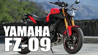 6. Test Ride: 2016 Yamaha FZ-09 (MT-09)