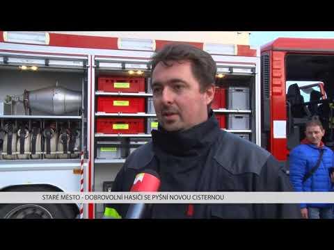 TVS: Staré Město - Nové hasičské auto