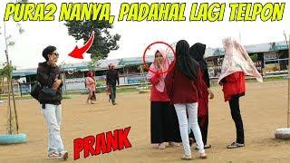 Video PURA PURA NANYA PADAHAL LAGI TELPON | Prank Indonesia MP3, 3GP, MP4, WEBM, AVI, FLV April 2019