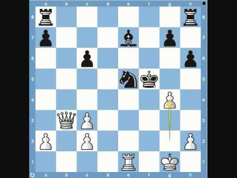 Mikhail Tal vs Vladimir Simagin – Russian Championships