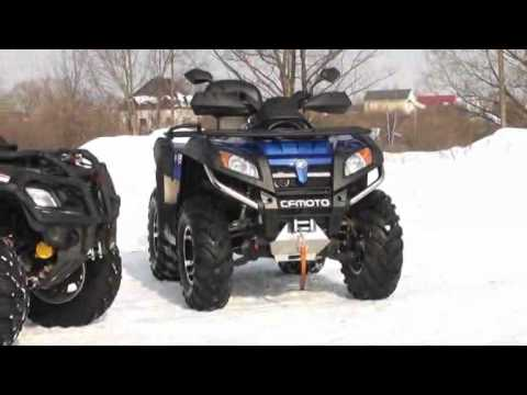 Cfmoto CF-800-2 X8 EFI vs Brp Can-am Outlander 800R MAX XT