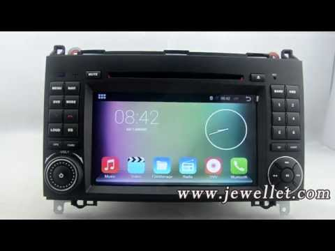 Android 4.4 Benz W169 W245 Vito Viano Sprinter DVD GPS Navigation with Bluetooth,3G/Wifi,DVR,1080P