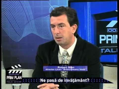 Emisiunea Prim Plan – Marian Măchițescu și Robert Stan – 25 septembrie 2014