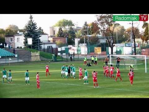 05.10.2013 - Skrót meczu 11. kolejki II ligi Radomiak Radom 2:3 Wisła Puławy.
