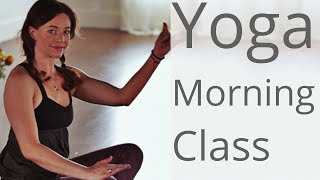 Video Morning Yoga for all Levels -  With Fightmaster Yoga MP3, 3GP, MP4, WEBM, AVI, FLV Maret 2018