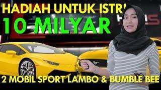 Video HADIAH UNTUK ISTRI 10 MILYAR 2 MOBIL SPORT LAMBO & MUSTANG MP3, 3GP, MP4, WEBM, AVI, FLV Mei 2019