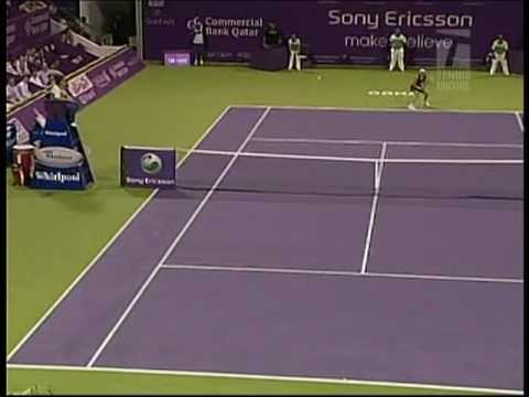 Caroline Wozniacki en Doha