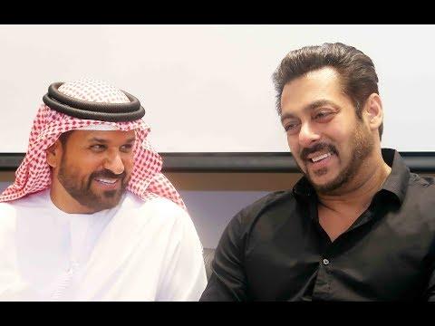 Salman Khan along with Saif Ahmed Belhasa- Inaugurates World's Biggest Driving Center in Dubai-2017