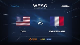 exilessmath vs Dog, game 1