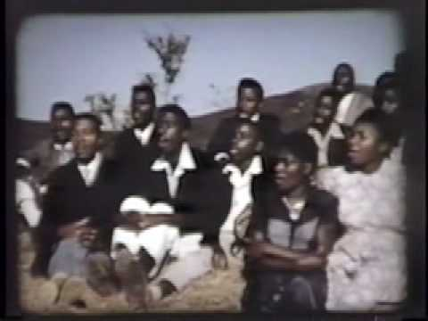 Dondi choir - Sivaya is sung by the Dondi Mission choir in 1958.