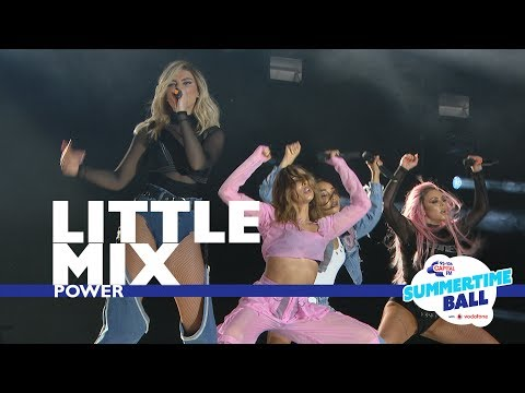 Little Mix - 'Power'  (Live At Capital's Summertime Ball 2017) (видео)