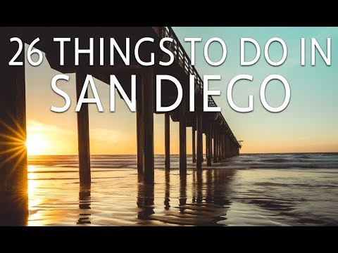 26 Things to Do in San Diego