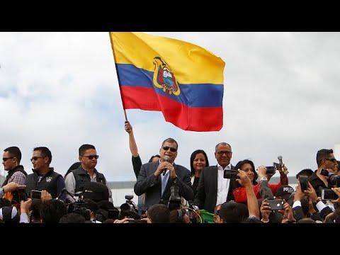Εκουαδόρ: Ο πρώην πρόεδρος αφήνει τη χώρα του και ακολουθεί τη σύζυγό του στο Βέλγιο
