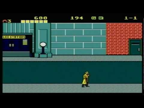 Dick Tracy Master System