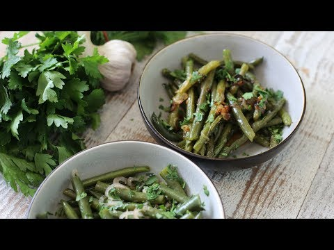 Spring Green Beans 2 Ways : Cold Salad & Pan Fried | French Bistro Recipes