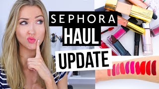 SEPHORA HAUL UPDATE || What Worked & What DIDN'T by Rachhloves