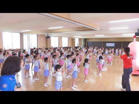 日本全国でレッツ☆うみダンス in みすず幼稚園のみなさん