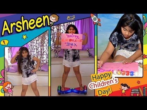 Arsheen Namdar Dances, Paints And Celebrates Child