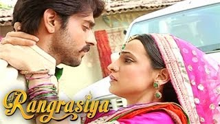 Rudra & Paro's SANGEET SCENE &  EXCLUSIVE INTERVIEW in Rangrasiya 3rd March 2014 FULL EPISODE