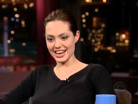 Angelina Jolie On David Letterman Show