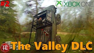 SpinTires MudRunner Xbox One: Let's Play THE VALLEY DLC! NEW GARAGE UNLOCKED!