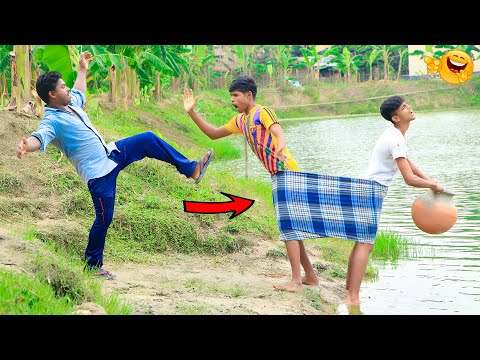 New Top Funny Comedy Video 2020__Very Funny Stupid Boys__Episode-136--Indian Fun || ME Tv