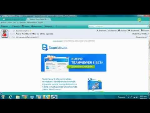Video 1 de Mozilla Thunderbird: Añadir una cuenta de correo