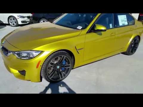 2015 BMW M3 AUSTIN YELLOW 19″ M WHEELS MOONROOF Car Review