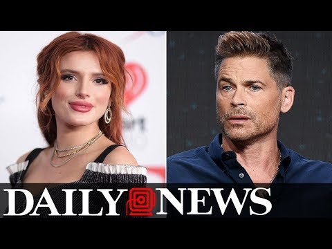 Rob Lowe slams Bella Thorne for complaining about highway closure