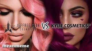 Jeffree Star Cosmetics vs. Kylie Cosmetics || Who's ACTUALLY self-made?