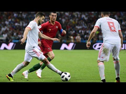 العرب اليوم - شاهد: المنتخب البرتغالي يتعادل مع نظيره الإسباني بثلاثية لرونالدو