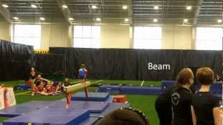 Brookings (SD) United States  city pictures gallery : All American Gymnastics Invite - Abigail Fickbohm - Brookings, SD
