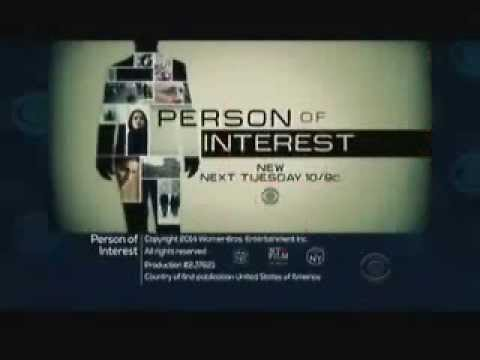 Person of Interest 3.22 (Preview)