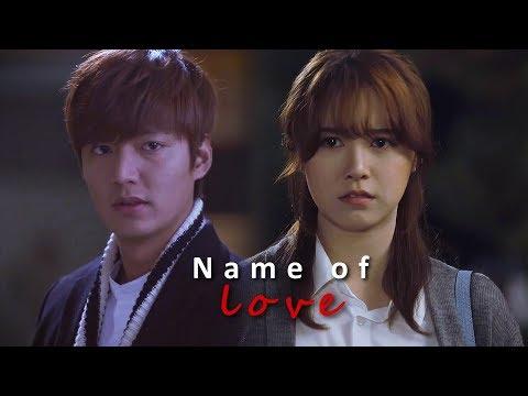 Lee Min Ho and Goo Hye Sun ll In the Name of Love 2018