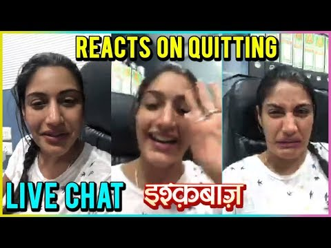 Surbhi Chandna aka Anika REACTS On QUITTING Ishqba