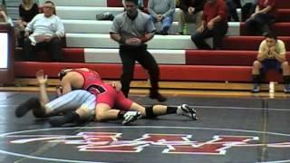 Levi Turley (Odessa) vs. Jacob Butler 195 lbs