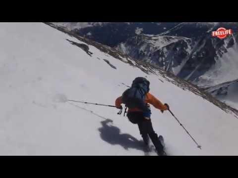 Skitour Serles Stubai Tirol (видео)