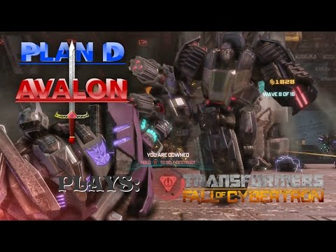 Intense Robot Action! - Plan D Avalon plays Transformers Fall of Cybertron Part 9 (видео)
