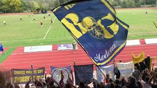 Modena Fc, che spettacolo i tifosi gialloblù!