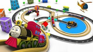 Video Train for children - cartoon for kids - train cartoon - choo choo train - Toy Factory cartoon MP3, 3GP, MP4, WEBM, AVI, FLV Oktober 2017