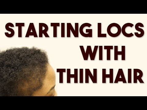 Starting Locs on Fine Hair or Thin Hair