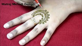 hello all,here is a video on latest mehndi design for handsfollow on   //https://www.instagram.com/divya080/subscribe for more videos:https://www.youtube.com/channel/UCECgulN13NACgO49LRXeQpAfacebook : https://www.facebook.com/Matroj-Mehndi-Designs-284372255239829/