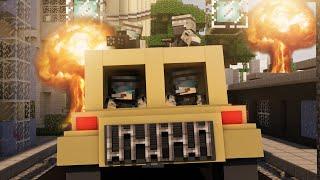 Minecraft | NUCLEAR BOMB CHALLENGE - Nuclear Mod Showdown! (NUKE VS CITY)