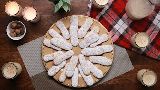 Homemade Eggnog And Eggnog Cookie Dippers by Tasty